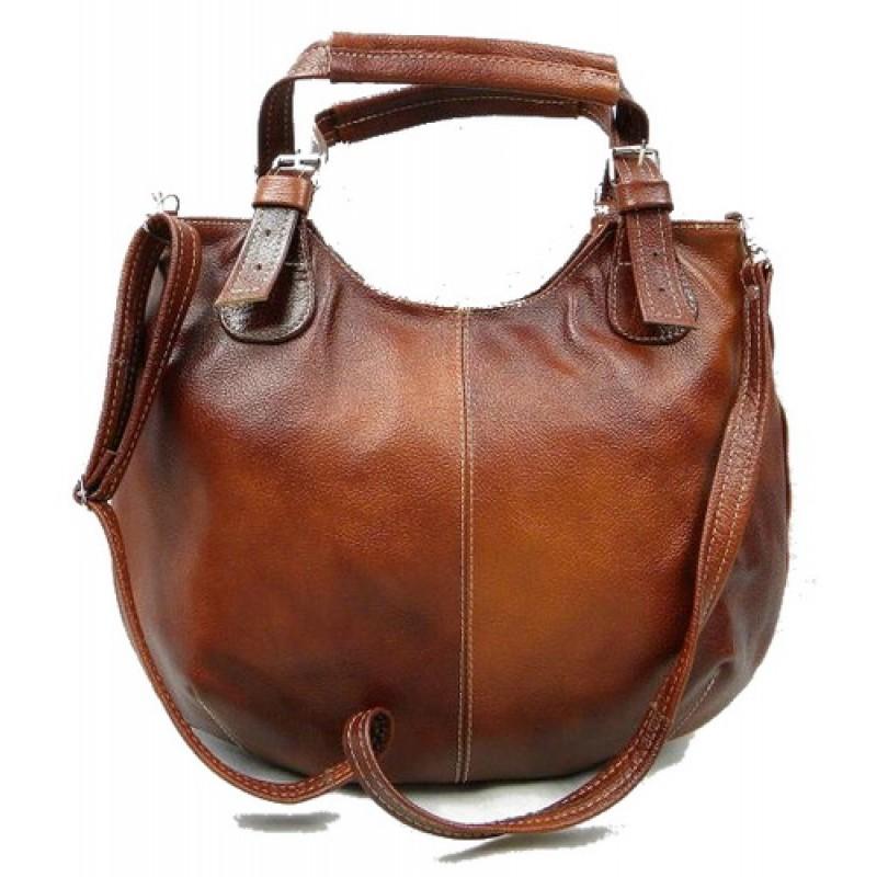 9caed35a239f7 ☆ ARTMONO™ Skórzana torebka damska na ramię. Skóra naturalna