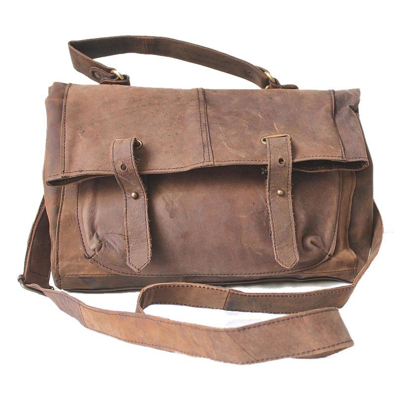 81d83b22a686c ☆ TD02 Skórzana miejska torba damska na ramię, worek. Skóra ...