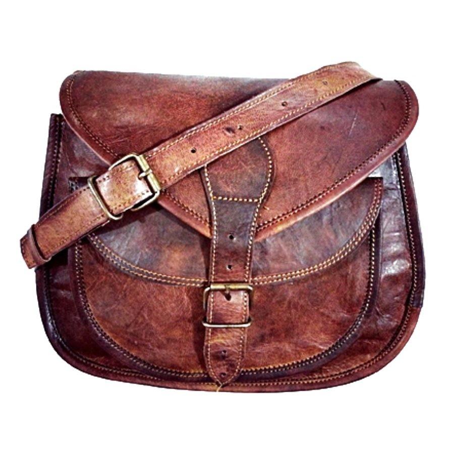 4aa33234e4b4 ☆ TD3A Skórzana torebka damska na ramię. Skóra naturalna vintage