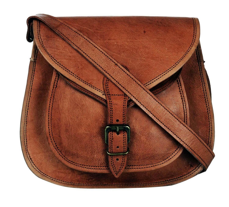 5d86fd2894f16 Skórzana torebka damska na ramię MARCA 6 VINTAGE™ Rozmiar 9