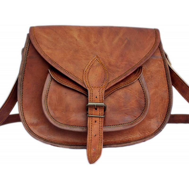4dd7ed952c0ba1 ☆ TD7 Skórzana torebka damska na ramię. Skóra naturalna vintage