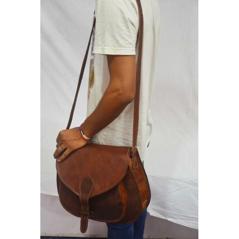a317c808371dc ☆ TD8 Skórzana torebka damska na ramię. Skóra naturalna vintage