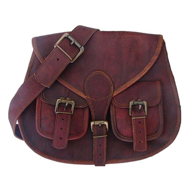 ca819e3581648 ☆ TD9 Skórzana torebka damska na ramię. Skóra naturalna vintage