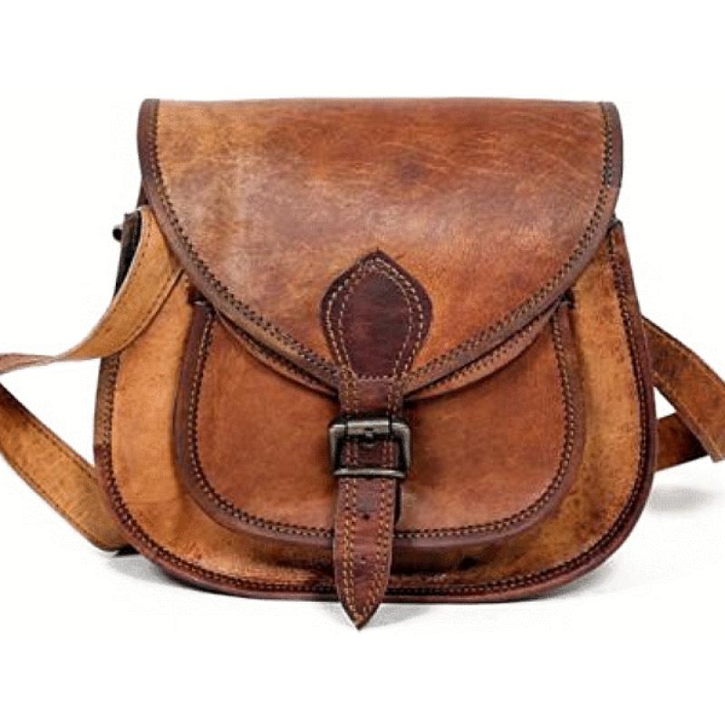 e844f0d396e8e6 ☆ TRH1 Skórzana torebka damska na ramię. Skóra naturalna vintage ...