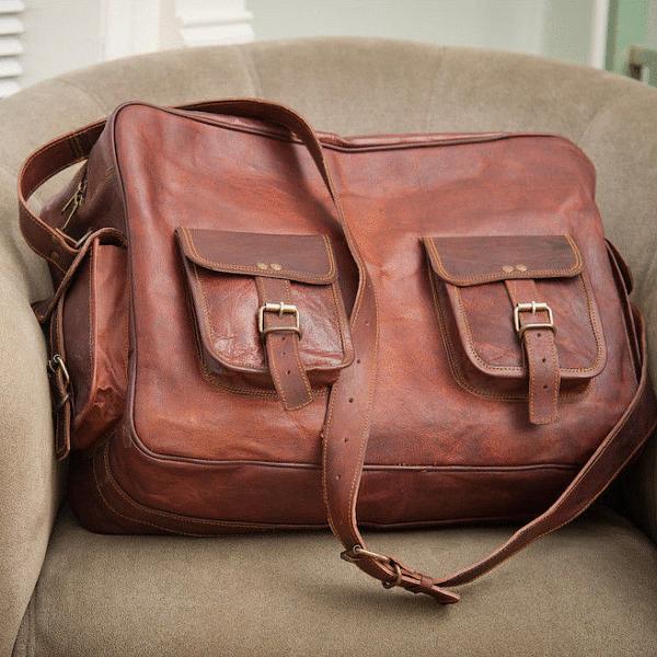 Skórzane torby na ramię