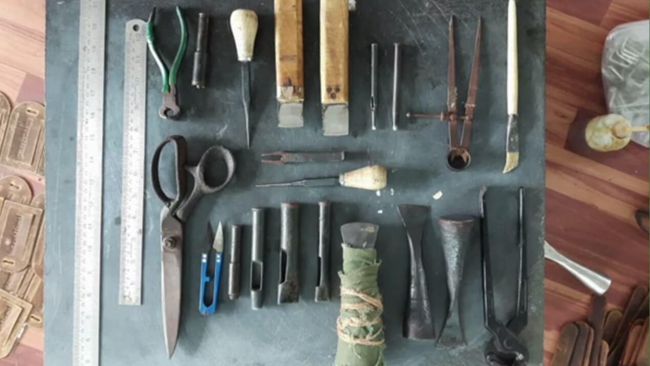 skórzane torby produkcja narzędzia