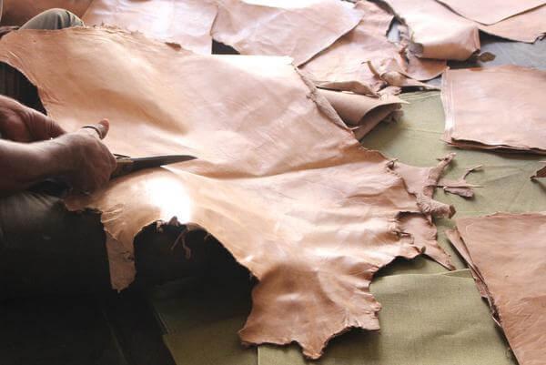 skóra surowa do produkcji toreb skórzanych